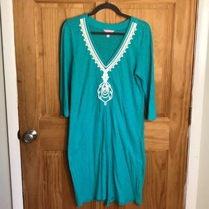 Lilly Pulitzer Green Sweater Dress Large